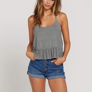 Volcom Stripe Halter Top